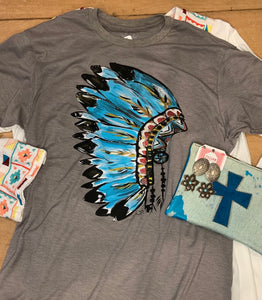 Custom Art Headdress T Shirt