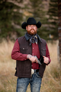 Wyoming Traders Conceal and Carry Oilskin Vest