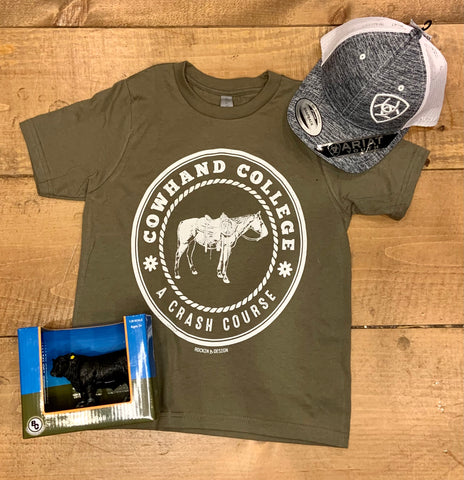 Youth Cowhand College T Shirt