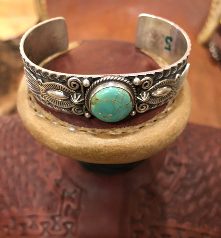Authentic Roysten Turquoise Cuff