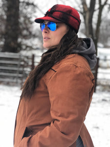 Ladies Cinnamon Shoshone Canvas Jacket