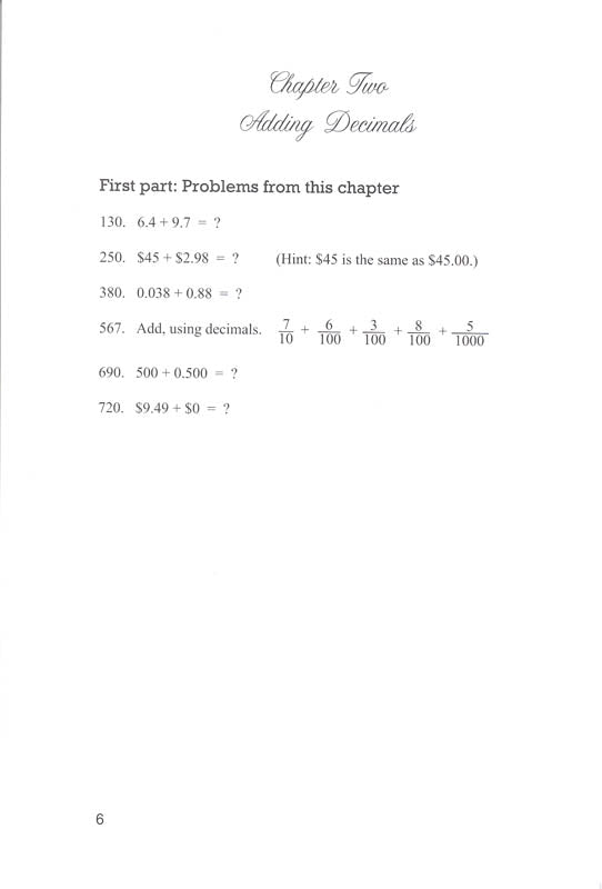Life of Fred: Decimals and Percents (Zillions of Practice Problems)