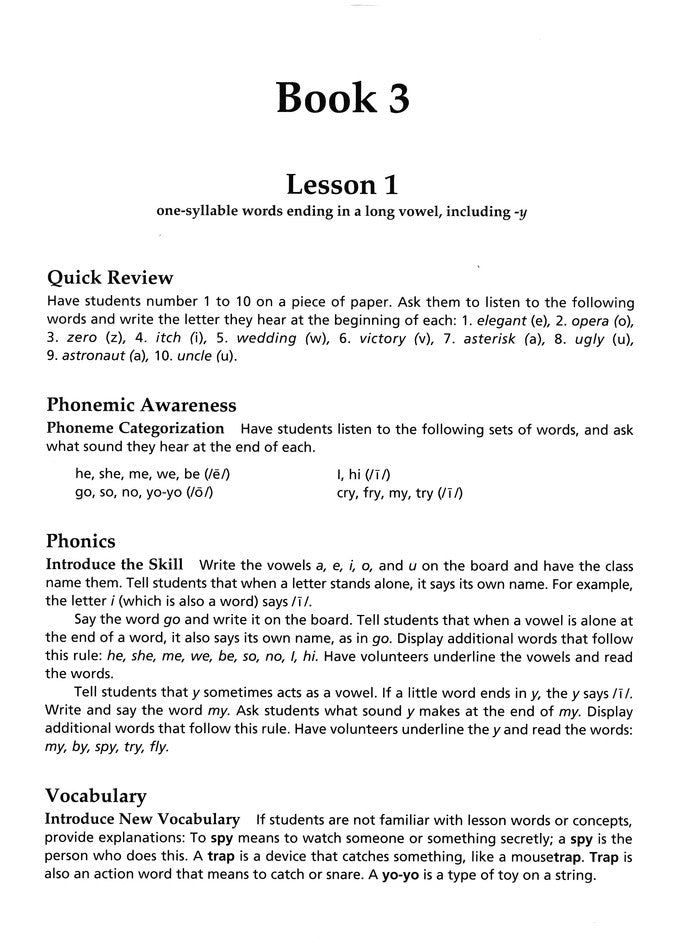 Explode the Code, Books 3 and 4Teacher's Guide