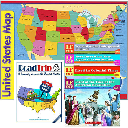 3rd Grade History & Geography Package