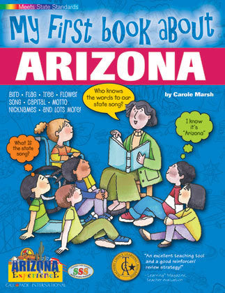 My First Book About Arizona