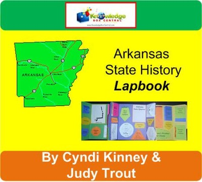 Arkansas History Lapbook (Download)