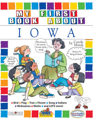 My First Book About Iowa