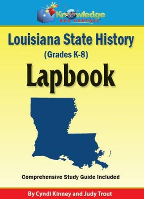 Louisiana History Lapbook (Download)