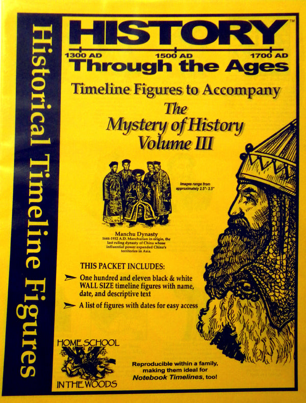 Historical Timeline Figures for Mystery of History (Vol 3)