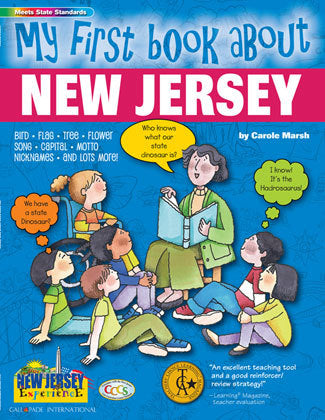 My First Book About New Jersey