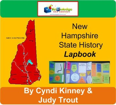 New Hampshire History Lapbook (Download)