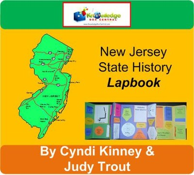 New Jersey History Lapbook (Download)
