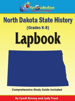 North Dakota History Lapbook (Download)
