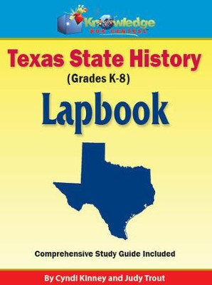 Texas History Lapbook (Download)