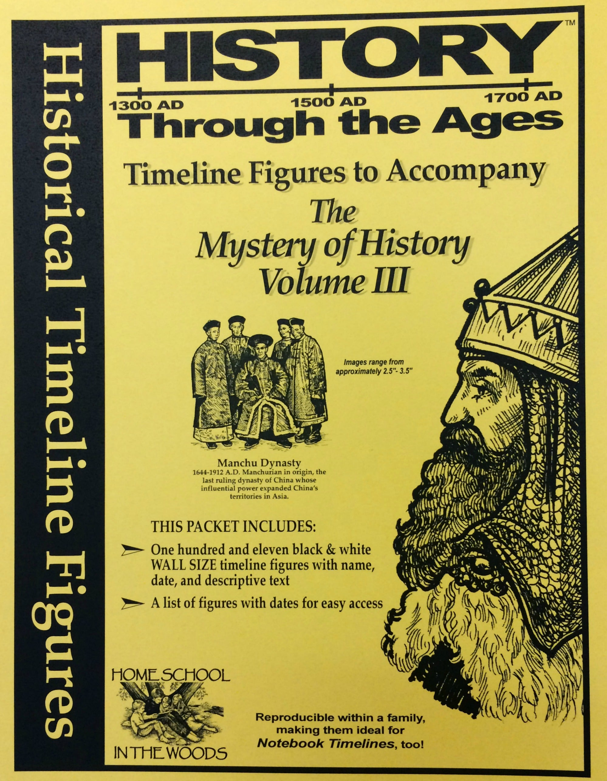 History Through the Ages Timeline: The Mystery of History Volume III