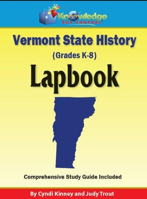 Vermont History Lapbook (Download)