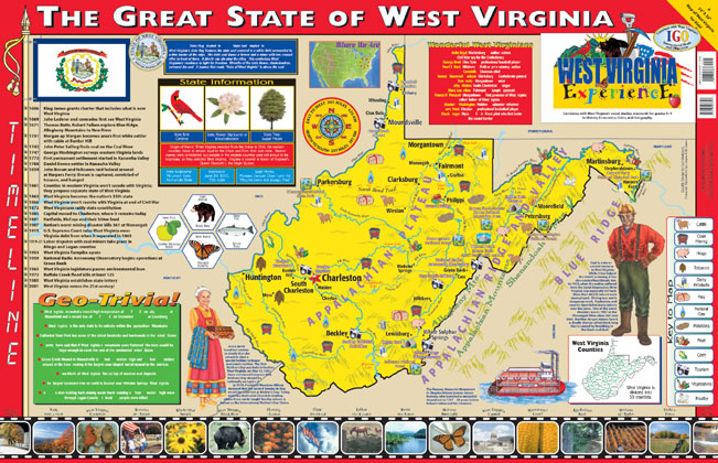West Virginia State Book Package