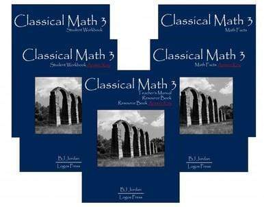 Classical Math – Grade 3 Package