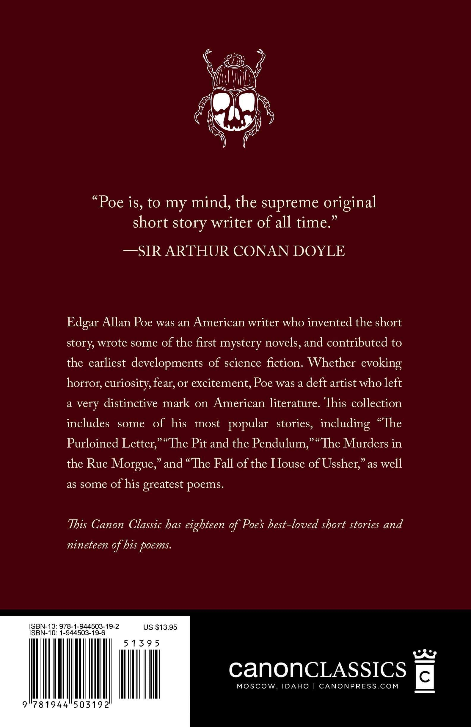 Edgar Allan Poe's Best Loved Tales and Poems