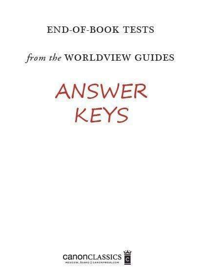 Worldview Guide Tests for the Canon Classics