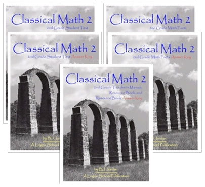 Classical Math – Grade 2 Package