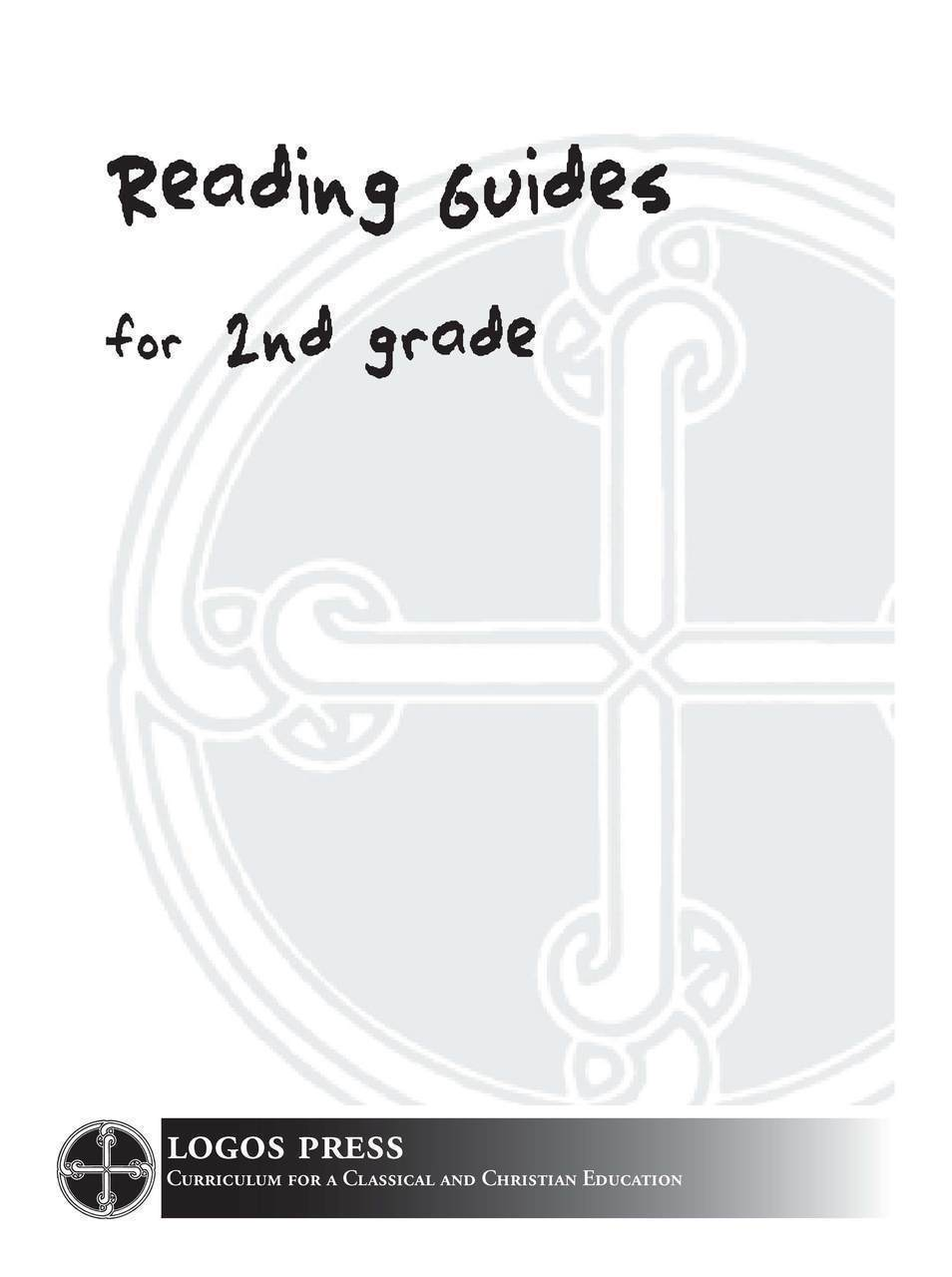 2nd Grade Reading Guide Package (Download)