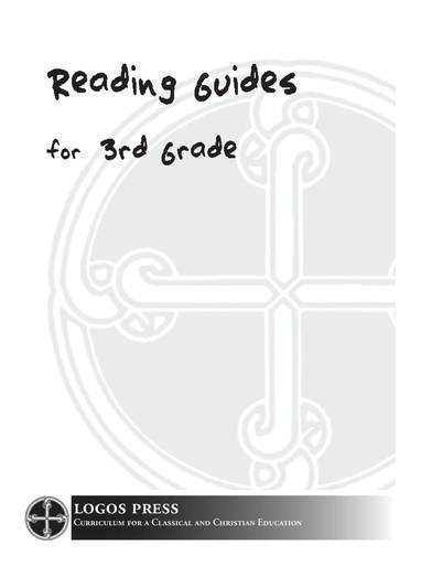 3rd Grade Reading Guide Package (Download)