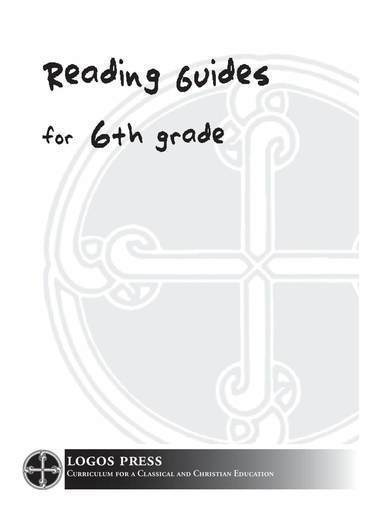 6th Grade Reading Guide Package (Download)