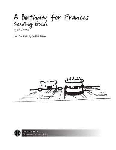 A Birthday for Frances – Reading Guide (Download)