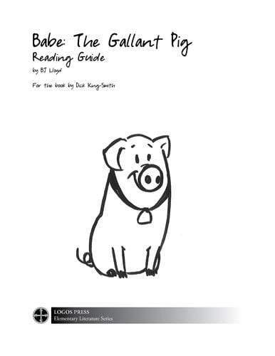 Babe: The Gallant Pig – Reading Guide (Download)