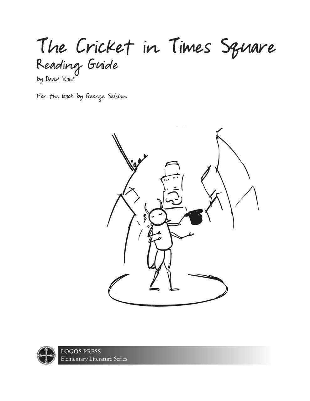 Cricket in Times Square – Reading Guide (Download)