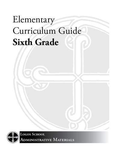 Elementary Curriculum Guide – 6th Grade (Download)