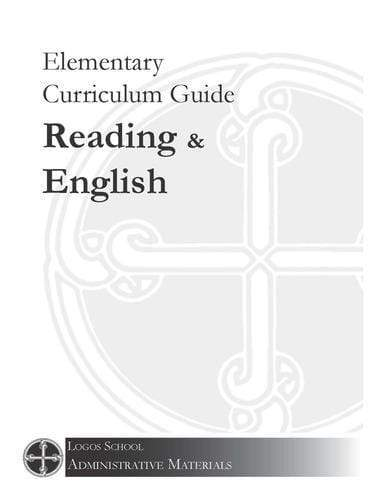 Elementary Curriculum Guide – Reading & English (Download)