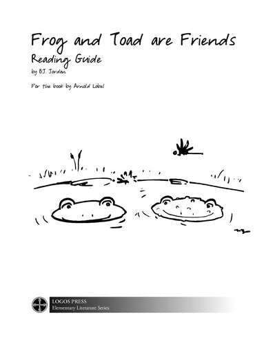 Frog and Toad are Friends – Reading Guide (Download)