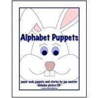 Kindergarten Alphabet Puppets (Download)
