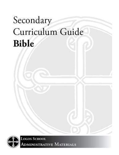 Secondary Curriculum Guide – Bible (Download)