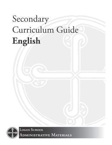Secondary Curriculum Guide – English (Download)