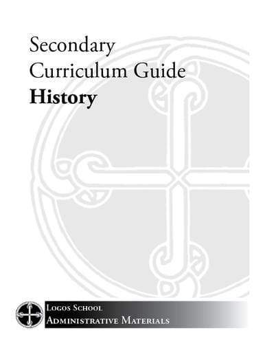 Secondary Curriculum Guide – History (Download)