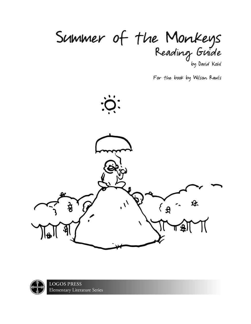 Summer of the Monkeys – Reading Guide (Download)