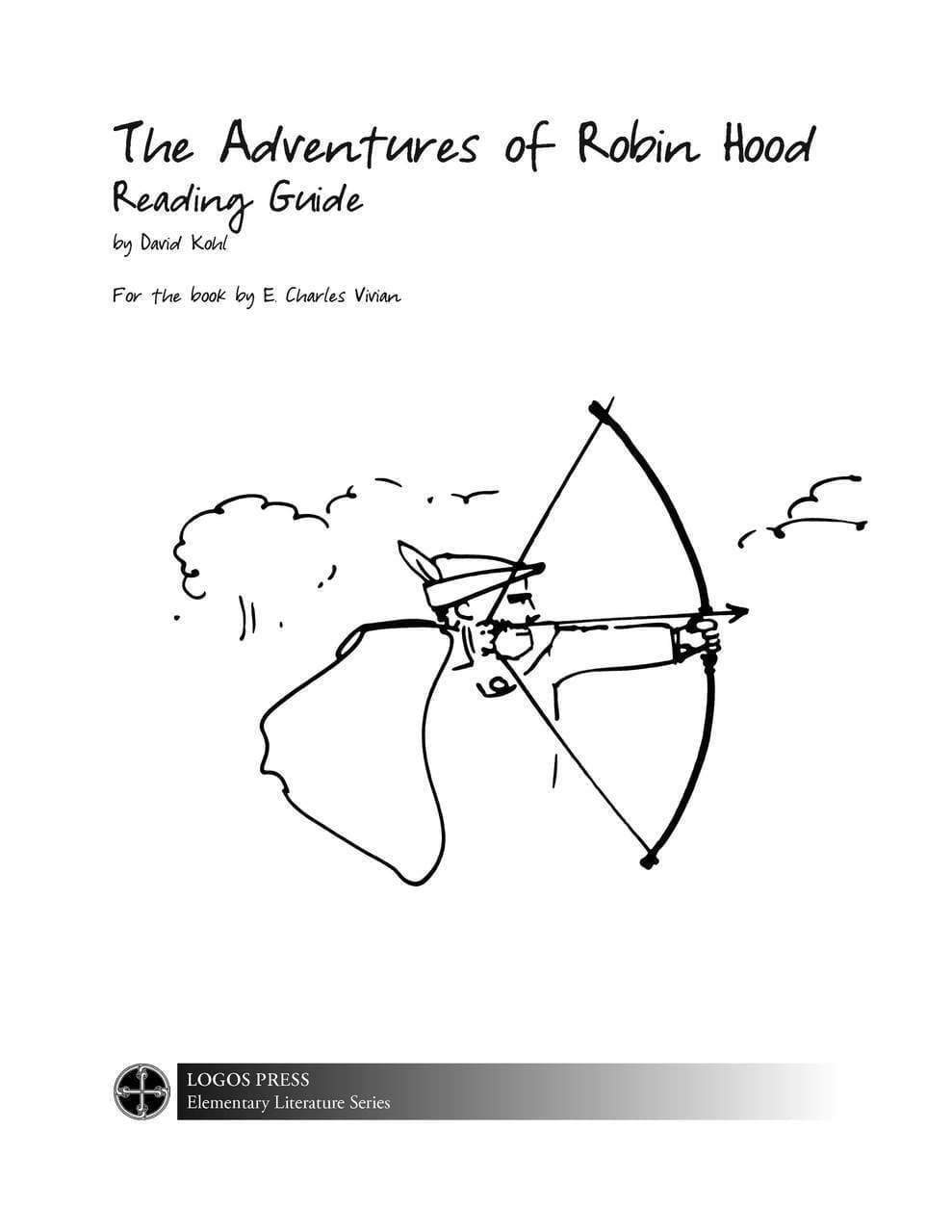 The Adventures of Robin Hood (by E. Vivian Charles) – Reading Guide (Download)