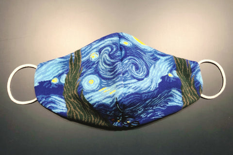 Art Face Mask - Starry Night