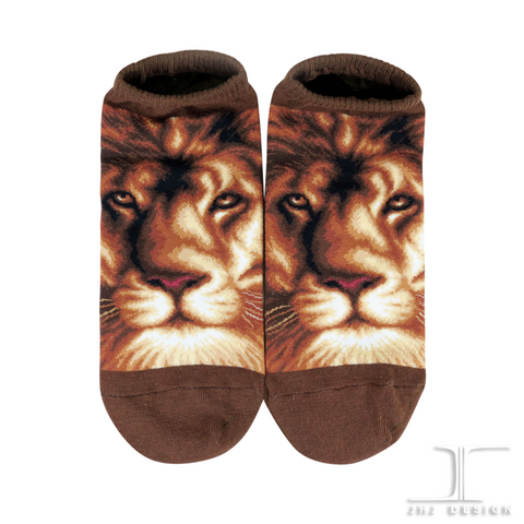 Wild Life Ankles - Lion