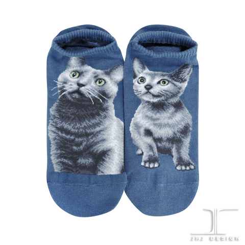Cat Ankles - Russian Blue