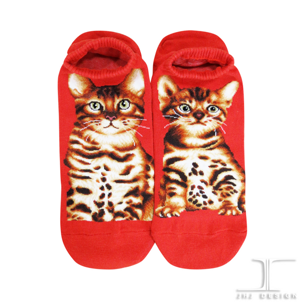 Cat Ankles - Bengal Orange