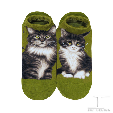 Cat Ankles - Maine Coon Green