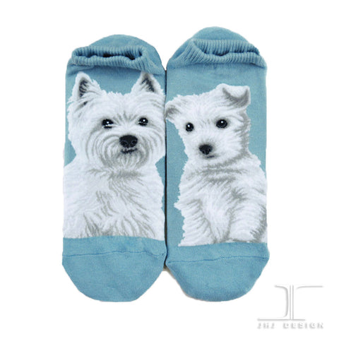 Dogs Ankles - West Highland White Terrier