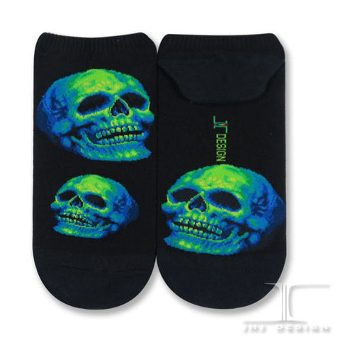 Skull Ankles - Green Light Skull