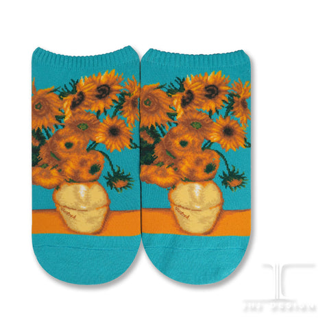 Masterpiece Ankles - Vase with Twelve Sunflowers