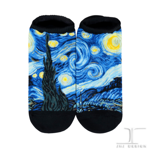Masterpiece Ankles - Starry Night