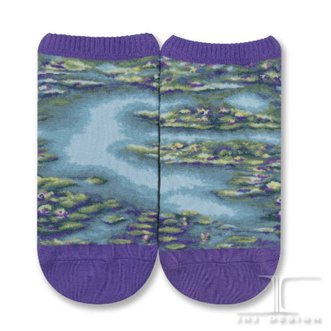 Masterpiece Ankles - Water Lilies